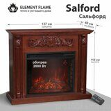Каминокомплект Element Flame Salford