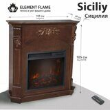 Каминокомплект Element Flame Siciliy