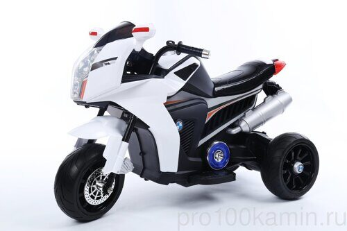 Мотоцикл Joy Automatic Sport bike  белый